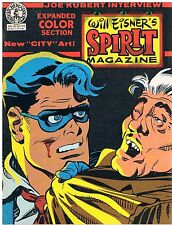 The Spirit Magazine nº 40/1983 will eisner/Joe Kubert entrevista