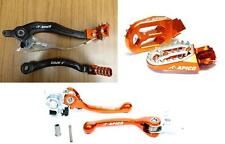 KTM SXF 250 350 07-13 Rear Brake Pedal Gear Flexi Levers ProBite Footpegs Set