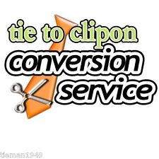 Turn Convert Your own Tie into aClip On Conversion Service Send it to us!