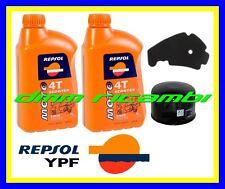 Kit Tagliando PIAGGIO BEVERLY 500 02>03 Filtro Aria Olio REPSOL 5W/40 2002 2003