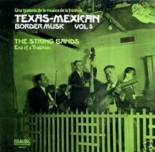 Tex-Mex Border Music Vol.5 SEALED folklyric 9007 LP String Bands