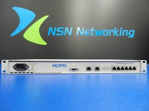 Nortel WLAN Security Switch 2360 DR4001A73E5 w/ Rack Ears 8-Port