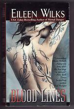 BLOOD LINES by Eileen Wilks (2007--Paranormal) PB ~FBI Agents/Werewolves/Demons~