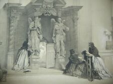 DAY & HAGUE LOUIS HAGHE LITHOGRAPH 1840 CONFESSIONAL ST CUDULE BELGIUM & GERMANY
