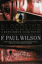 BLOODLINE by F. Paul Wilson  FIRST EDITION hardcover book