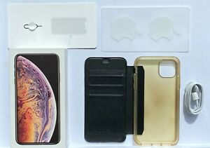 AS NEW // Apple iPhone XS Max - 256 GB - Gold (Unlocked) A2101 (GSM) (AU Stock)