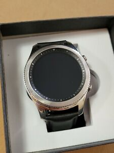 Samsung Galaxy S3 Classic Smart Watch SM-775 Black w/ Leather Band New Unlocked
