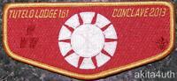 2013 Conclave OA Lodge 161 Tutelo (S90) SR-7A Blue Ridge Mountains Council BSA