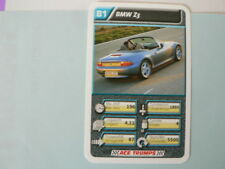 69-AUTOSALON CARS B1 BMW Z3 QUARTETT CARD