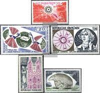 Frankreich 1886,1887,1890,1891,1892 (kompl.Ausg.) postfrisch 1974 Sondermarken