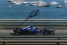 Jarno Trulli Hand Signed Gauloises Prost Peugeot 12x8 Photo F1.