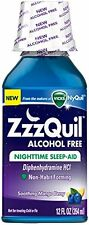 ZzZQuil Nighttime Sleep-Aid Alcohol Free 12 Oz