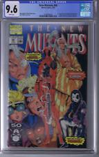 New Mutants #98 Marvel 1991 1st Appearance Deadpool, CGC 9.6 (NEAR MINT +)