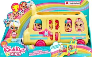 NEW Kindi Kids Minis S1 School Bus from Mr Toys