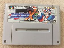 ROCKMAN X 3 Nintendo Super Famicom Japanese SFC SNES Japan USED
