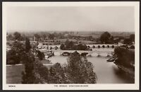 Warwickshire - Stratford-on-Avon - The Bridges - Vintage Photo Postcard