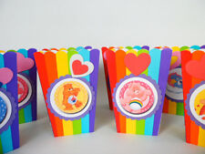 Care Bears Party favors. Popcorn, candy box. goodie bags  SET OF 10