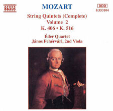 Eder Quartet, W.a. Mozart - String Quintets 2 [New CD]