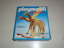 Playmobil Klicky 3672 Giraffe Giraffen Zoo Tierpark Afrika Color OVP