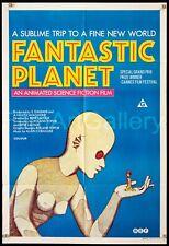 W608 Fantastic Planet La planete sauvage Sci-Fi Classic Movie Poster Silk Art