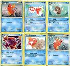 POKEMON lot de 6 Cartes POISSONS, MAGIKARP MAGICARPE etc... LMAGI6 A CHOIX