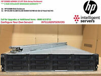 "HP Storageworks D2600 Disk Array 12x 3.5"" Drive Bays ** AJ940A ** With Rail Kit"