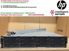 "HP StorageWorks D2600 Disk Array 12x 3.5"" Baies de Disque ** AJ940A ** avec Kit de rails"