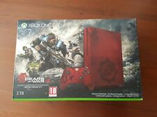 Xbox One S  2 TB 4K - Gears of War - Limited Edition Microsoft !!RARE!! + 2 GAME