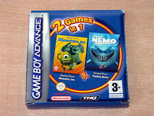 Nintendo Gameboy - Monsters Inc & Finding Nemo by THQ