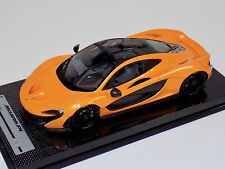1/18 Tecnomodel McLaren P1 in Papaya Orange  Black Wheels  #01 of 50 Carbon