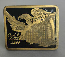"Vogt Usa ""Quality since 1880"" Belt Buckle Never Used Made in the Usa"