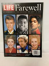 Time Life Special Edition magazine Farewell issue Celebrities we lost in 2016