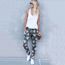 Womens Casual Sweatpants Jogger Dance Harem Pants Sports Baggy Slacks Trousers