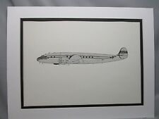 Pan Am  Lockheed Constellation  From  Pan Am HDQTERS