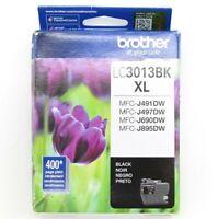 Genuine Brother LC3013BK XL Black Ink Cartridge Exp 10/23 Open Box
