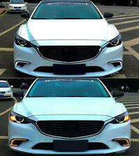For Mazda 6/Atenza 2017-2018  DRL Daytime Running Fog Light  Yellow Turn Lamp