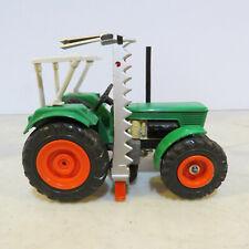 GAMA Deutz D100-06 MFD Tractor ROPS, Side Mount Sickle Mower 1/32 DZ-9526-E2