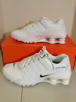 New Nike Shox NZ Men Sizes Shoes White/Black 501524 106