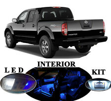 LED Package - Interior + License Plate + Vanity for Nissan Frontier  (7 Pcs)