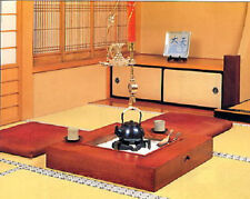 """Japanese Electric Heater Visceral Hearth """" Irori """" made from Elm wood."""