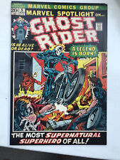 MARVEL SPOTLIGHT 5 - 1st Appearance GHOST RIDER Johnny Blaze! CGC it!!! 1972