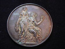 Massachusetts Horticultural Society 1918 Engraved Award Medal