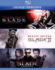 Blade/Blade 2/Blade: Trinity (TRIPLE FEATURE) Blu-ray, 2015, 3-Disc W/ Slipcover