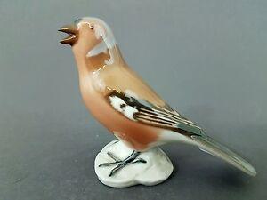 (G0119) Bing & Gröndahl Vogel Figur, Buchfink, Mod.Nr. 2322, Höhe 9,5  cm