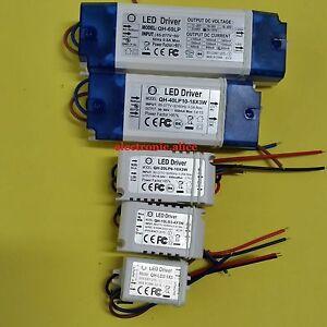 85-265V 600mA-650mA LED Driver Convertor Transformer Ceiling Light Power Supply