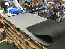BLACK AUTOMOTIVE CARPET INSULATION CAR VAN HORSE BOX BOAT CAMPER CARVAN LORRY