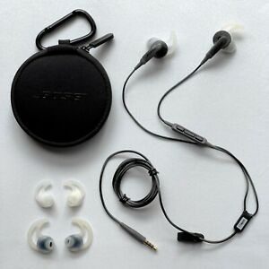 Bose SoundSport In-ear Charcoal Headphones Wired 3.5mm Jack for Apple 7417760010