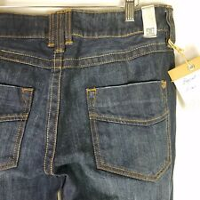 DC Shoes Jeans Boycut Miner Dark Wash Womens Size 29 Feathering