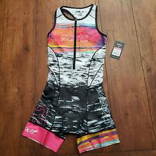 ZOOT Womens M Tri Suit LTD Sleeveless Triathlon Cycling Skinsuit Racesuit Medium