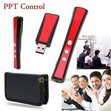 2.4GHz USB Wireless PowerPoint PPT Presenter Remote Control RC Laser Pointer